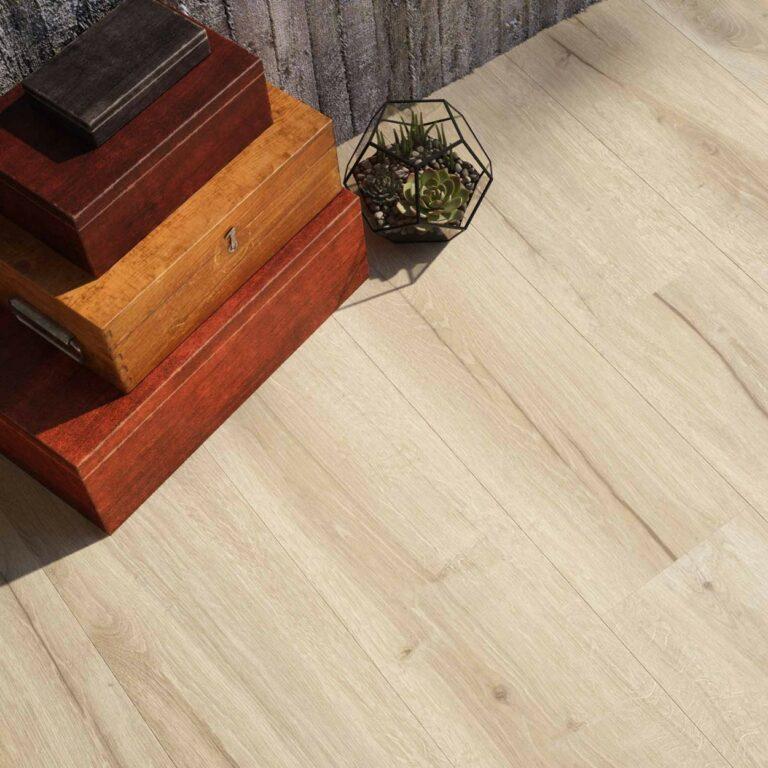Click PVC vloer eiken