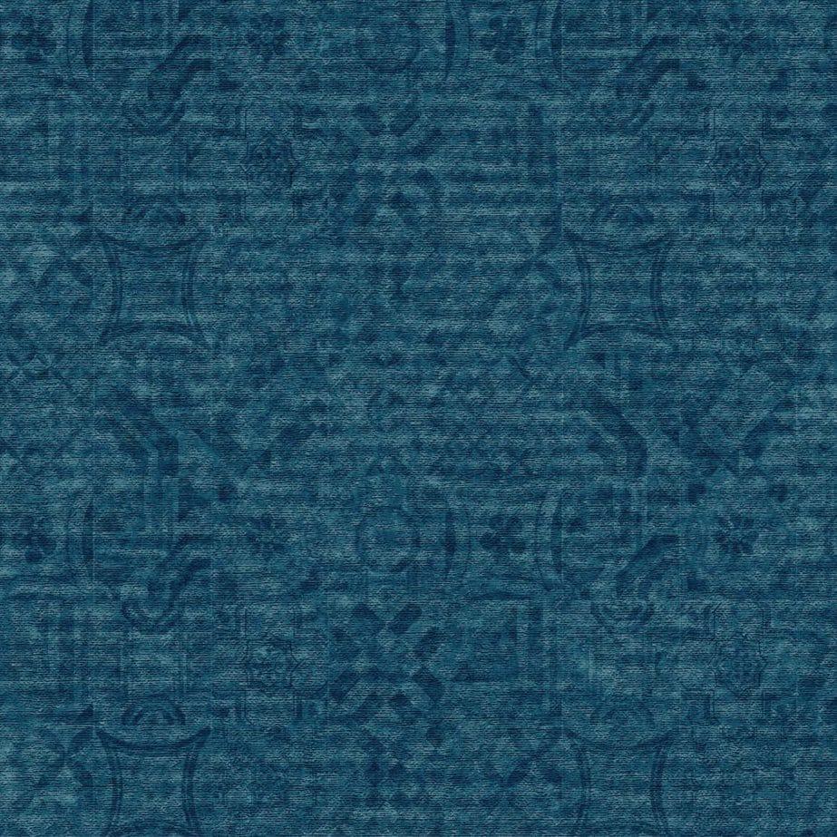 tapijttegels velour vintage donker blauw