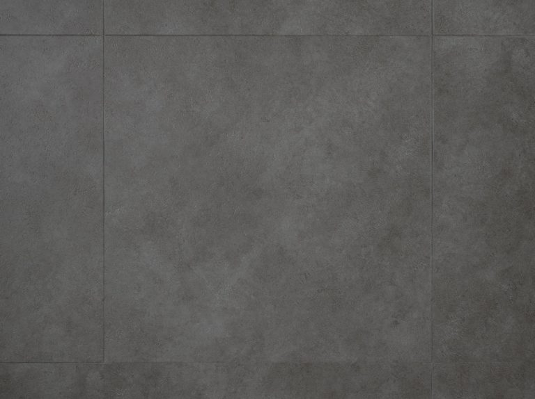 plak pvc vloer beton look leisteen zwart