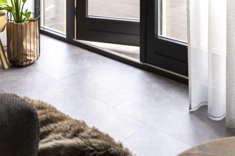 Portland betongrijs vloertegel