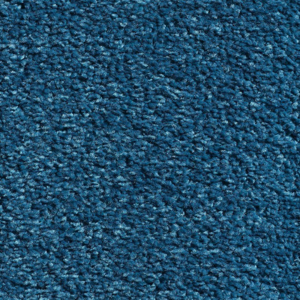 tapijttegels hoogpolig azuur blauw