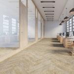 Visgraat tapijt vloerbedekking
