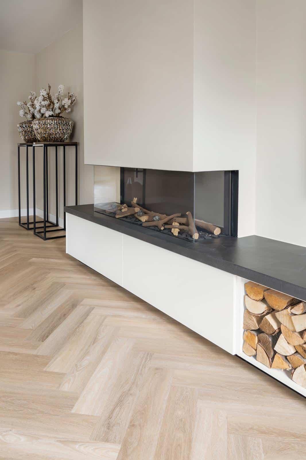Visgraat Vloer Vivian Beige Eiken De Vloerentrend Van Nu Stile Floors