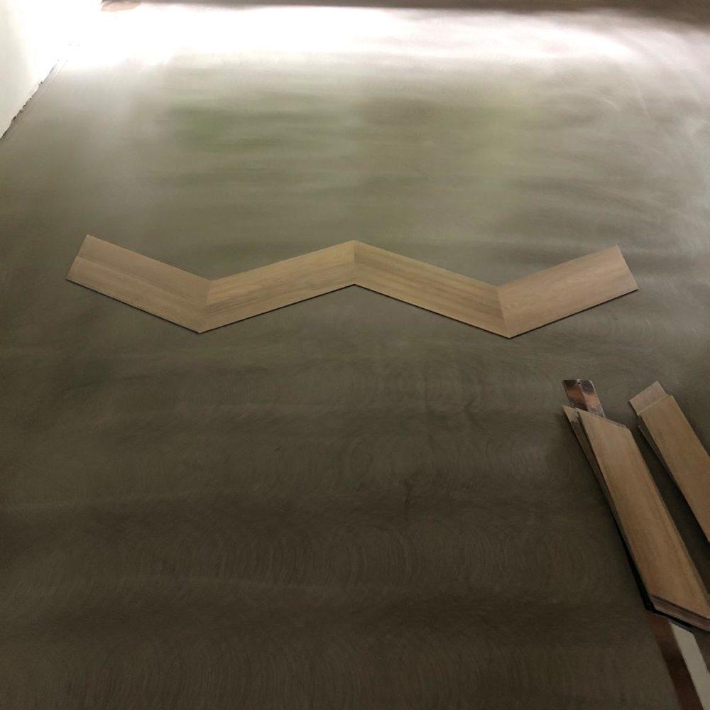 PVC vloer hongaarse punt